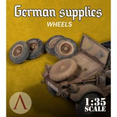 German Supplies - Wheels Kubelwagon AK