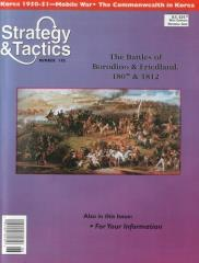 #195 w/The Battles of Borodino & Friedland 1807 & 1812