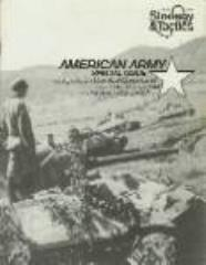 "#30 ""American Army Special Issue, The Saratoga Campaign"""