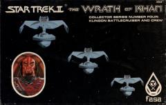 Wrath of Khan - Collector Series #4 - Klingon Battlecruiser and Crew