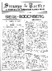 "Vol. 1, #6 ""Siege of Bodenberg"""