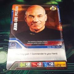 Promo Card - Jean-Luc Picard (Silver Lettered Edition)