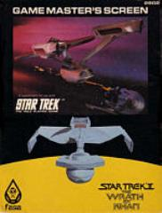 Star Trek II - Game Master's Screen