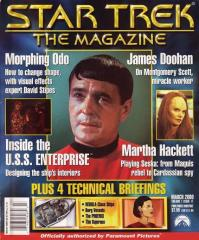 "#11 ""James Doohan, Technical Briefings - Nebula Class Ships, Borg Vessels, The Bajorans"""