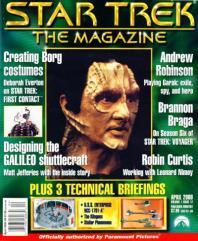 "#12 ""Andrew Robinson, Technical Briefings - U.S.S. Enterprise NCC-1701-A, The Klingons, Stellar Phenomena"""