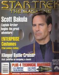 "#34 ""Scott Bakula, Technical Briefings - U.S.S. Prometheus, Geordi La Forge"""