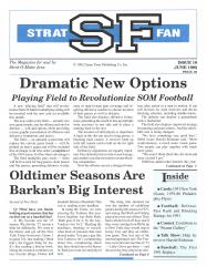 "#10 ""Dramatic New Options, Oldtimer Seasons Are Barkan's Big Interest"""