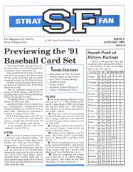 "#5 ""Previewing The '91 Baseball Card Set, Sneak Peak at Hitters Ratings"""