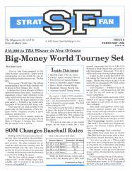 """#6 """"Big-Money World Tourney Set, SOM Changes Baseball Rules"""""""