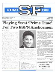"#8 ""Playing Strat Prime Time For Two ESPN Anchormen"""