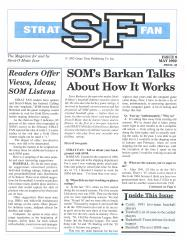 """#9 """"SOM's Barkan Talks About How It Works"""""""