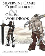 Silvervine Games Core Rulebook & Cyrus World Book