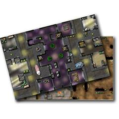 Double-Sided Map - Abandoned Casino/Ughnaught Mines