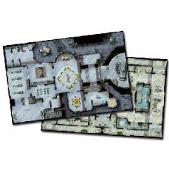 Double-Sided Map - Remote Listening Post/Commercial Space Port