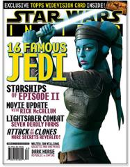 "#62 ""Starships of Episode II, 16 Famous Jedi"""