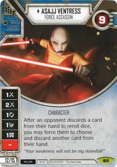 Asajj Ventress - Force Assassin - Spirit of Rebellion #09