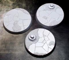 50mm Beveled Bases - Ancient Sands