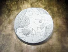 60mm Beveled Base #2 - Ancient Sand