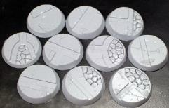 32mm Beveled Bases - Alien Temple