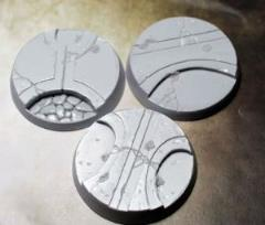50mm Beveled Bases - Alien Temple