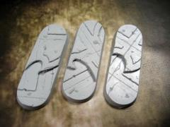 25x70mm Bike/Cavalry Beveled Bases - Alien Temple