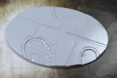 110x170mm Beveled Base - Alien Temple