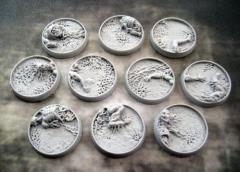 25mm Beveled Bases - Corpse Fields