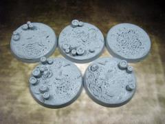 40mm Beveled Bases - Creeping Infection