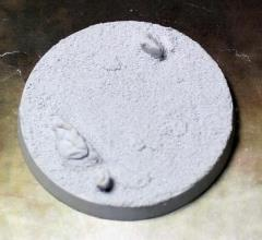55mm Beveled Base - Desert Wasteland