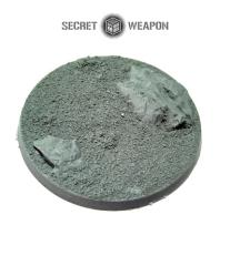 60mm Beveled Base #2 - Desert Wasteland