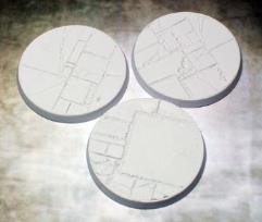 50mm Beveled Bases - Flagstone
