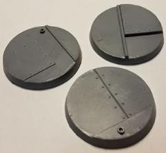 50mm Beveled Base - Iron Deck