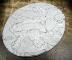 95x120mm Beveled Base - Lava Flow