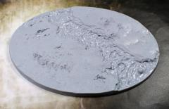 110x170mm Beveled Base - Lava Flow