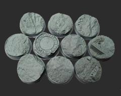 25mm Beveled Bases #2 - Runic Mountain
