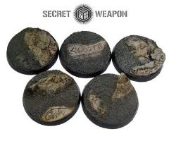 40mm Beveled Bases #1 - Runic Mountain