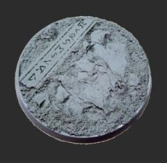 60mm Beveled Base #3 - Runic Mountain
