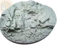 95x120mm Beveled Base #1 - Runic Mountain
