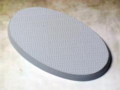40x75mm Beveled Base - Steel Plating
