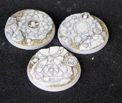 50mm Beveled Bases - Shattered Ritual
