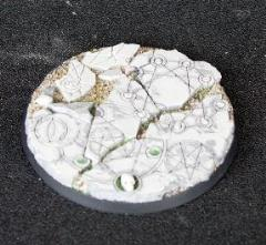 60mm Beveled Base - Shattered Ritual #1