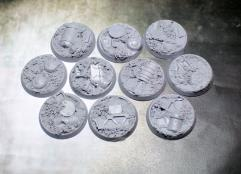 32mm Beveled Bases - Scrap Yard
