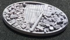 65x30mm Beveled Base - Urban Rubble