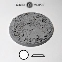 80mm Beveled Base - Urban Rubble