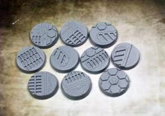 25mm Beveled Bases - Warp Core (10)