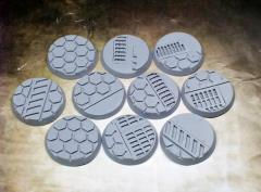 32mm Beveled Bases - Warp Core (10)