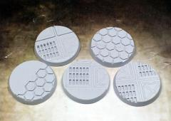 40mm Beveled Bases - Warp Core (5)