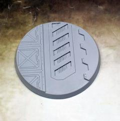 60mm Beveled Base - Warp Core #1