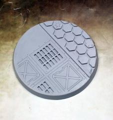 60mm Beveled Base - Warp Core #2