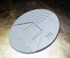 95x120mm Beveled Base - Warp Core
